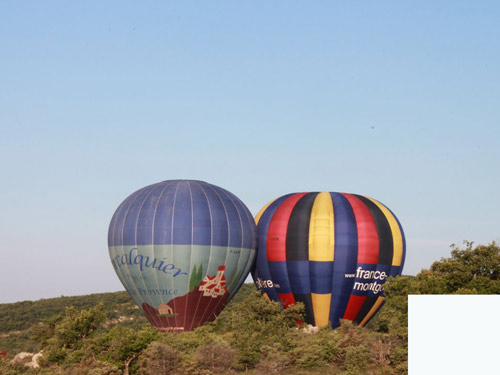 montgolfiere paca
