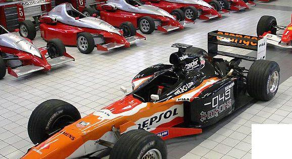 pilotage formule 1 et F3 en PACA