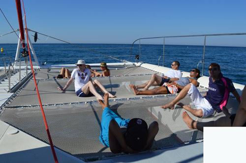 incentive catamaran séminaire entreprise