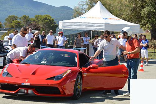 pilotage voiture GT Marseille Activ Provence
