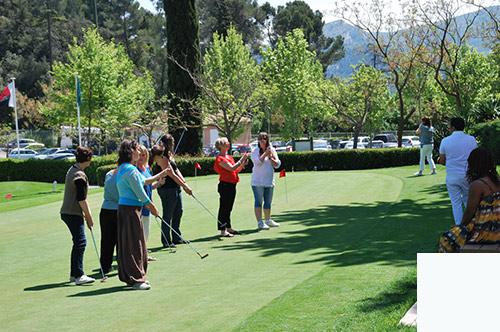 Incentive Golf groupe entreprise