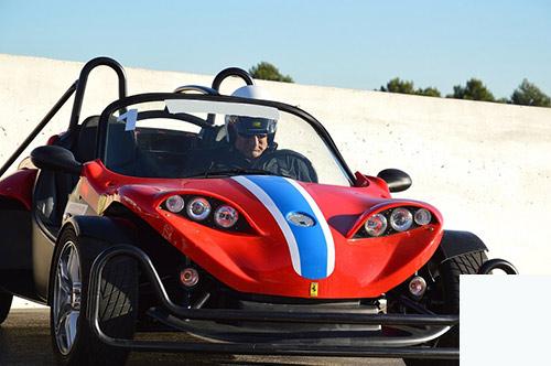 pilotage voiture course sur circuit en PACA