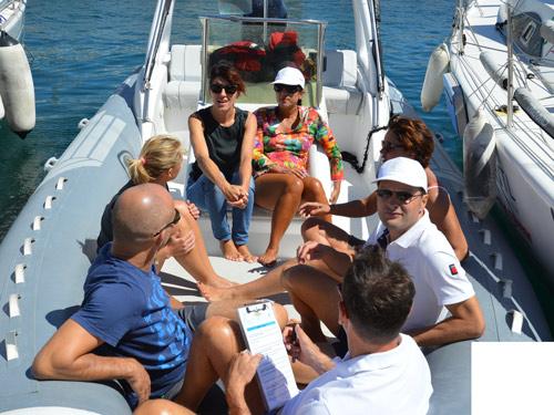 rallye nautique groupe entreprise