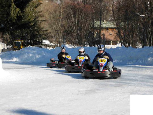Karting sur glace, incentive hiver