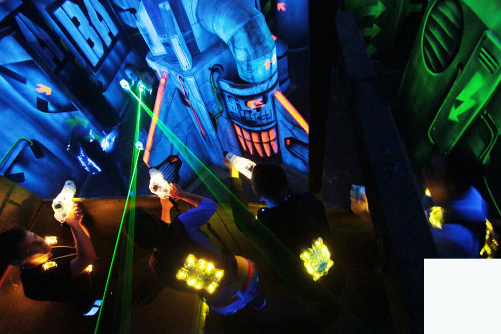 incentive laser game groupe entreprise en PACA