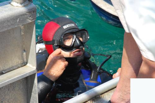 plongée insolite sous marine avec Activ Provence