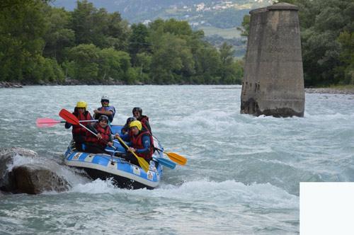 rafting pour entreprise en PACA avec activ provence
