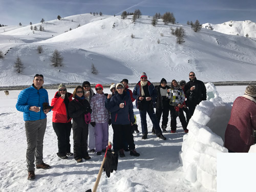 team building hiver Activ Provence