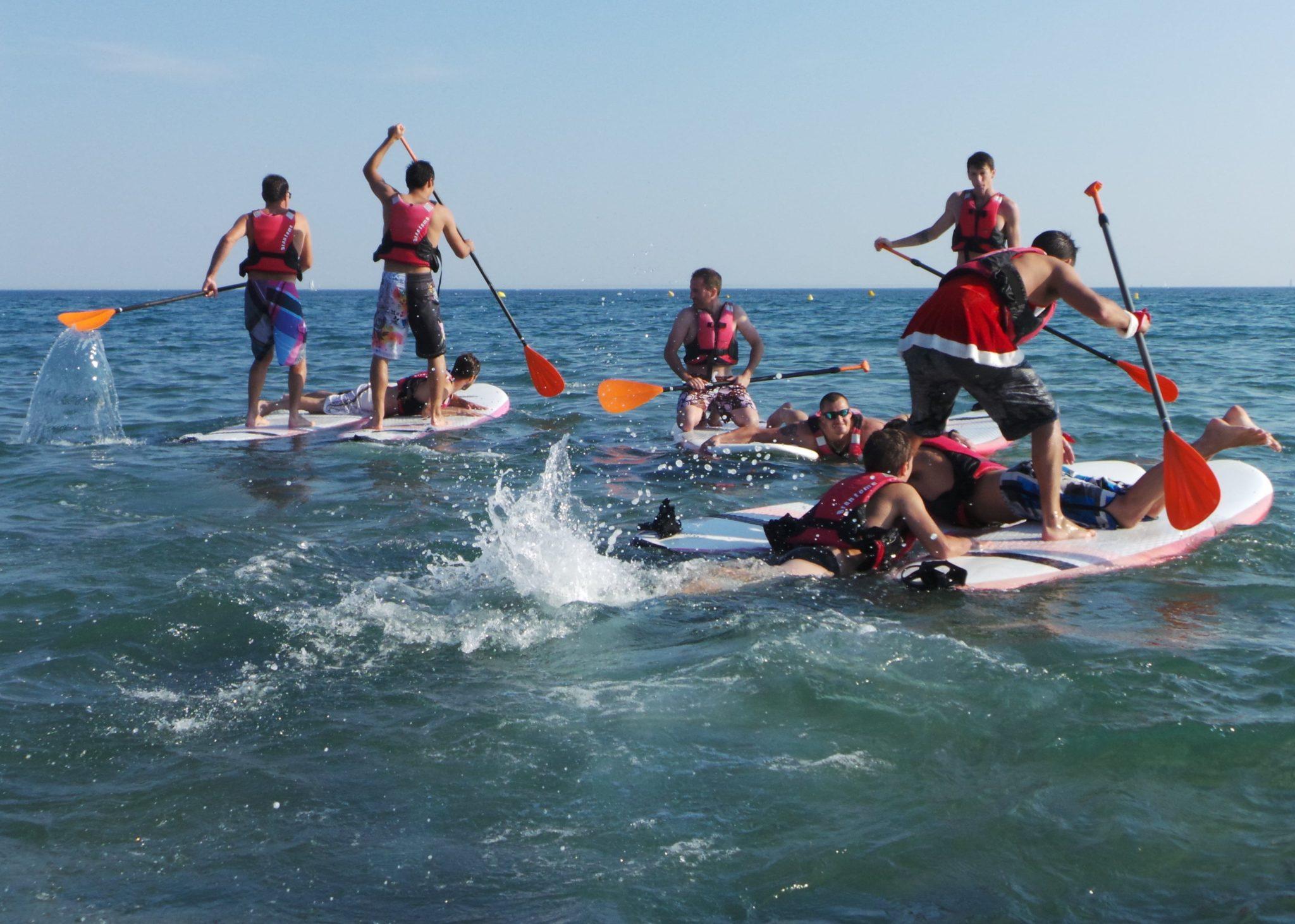 activités mer incentive entreprise kayak ile