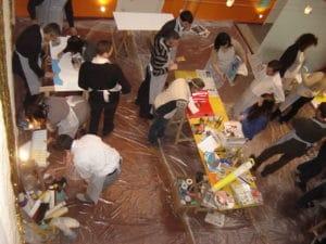 Atelier Fresque Géante avec activ provence
