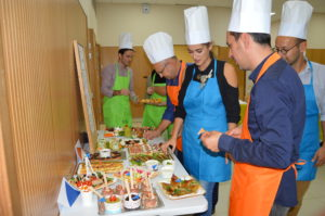 Teambuilding battle de cuisine