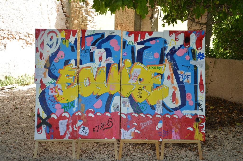 fresque street art - atelier street art