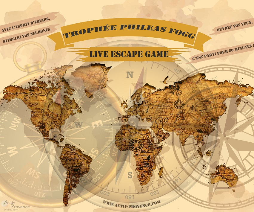 live Escape Game entreprise