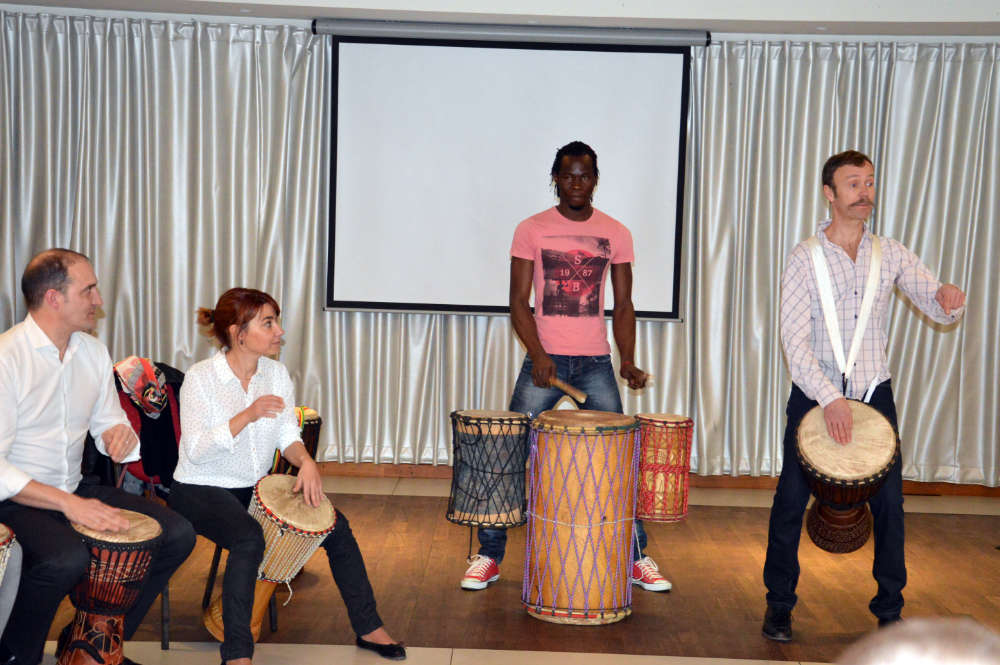 animation atelier percussions africaines