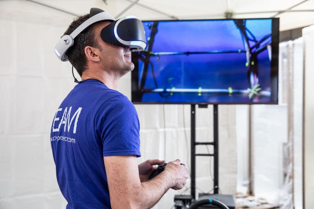 animation réalite virtuelle