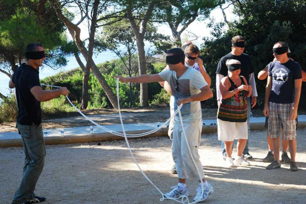 coaching jeux de confiance par Activ Provence
