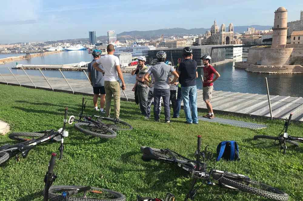 marseille en vélo avec Activ Provence