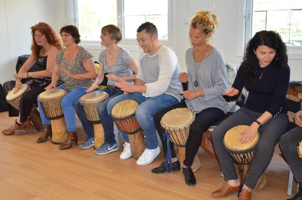 Team-building percussions