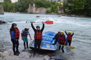 arrivee-groupe-rafting