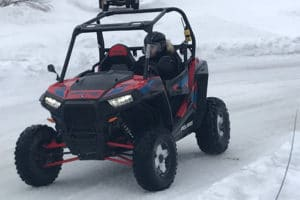 buggy sur glace, incentive en montagne par activ provence