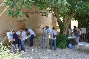 déroulement atelier fresque géante par activ provence