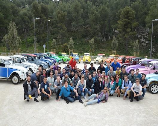 Team Building Rallye 2CV séminaire entreprise