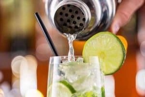 préparation cocktail citron vert avec activ provence