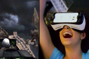 réaction joueuse réalité virtuelle