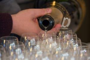 inauguration champagne