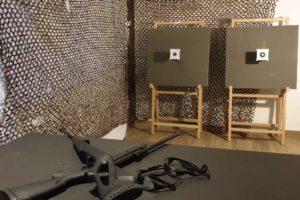 installation de stand de tir
