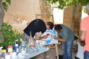travail de cohésion sur fresque avec activ provence